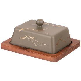Масленка на деревянной подставке  коллекция
