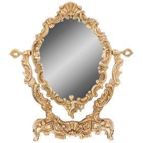 Зеркало  на подставке 30х7 см высота 34см-646-103