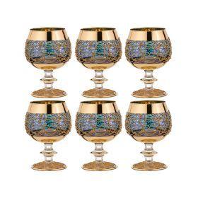 Набор бокалов для коньяка из 6 шт.400 мл.высота=14 см.-103-518