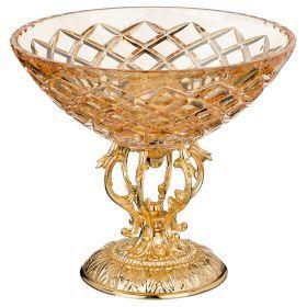 Декоративная чаша высота=20 см.диаметр=23 см.-284-550