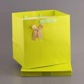 Комплект бумажных пакетов из 10 шт. 30*30*25 см-521-091