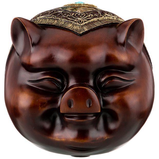 """Фигурка свинья символ накопления прибыли"""" 31*26,5*24 см (кор=8 шт.)-114-420"""