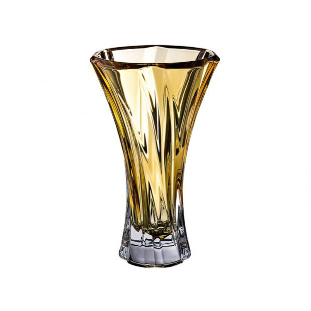 "Ваза ""oklahoma amber"" высота=32 см.-614-546"