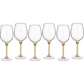 Набор бокалов для вина из 6 шт. 450 мл. высота=23 см.-661-027
