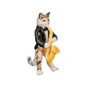 Фигурка кошка высота=7 см.