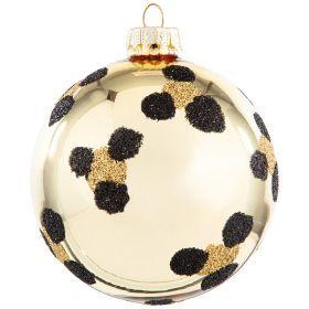 Елочное украшение шар диаметр=8 см (мал.уп 6 шт)-211-327(Товар продается кратно 6шт)