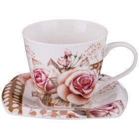 Чайный набор на 1 персону 2пр. 220 мл.-165-394