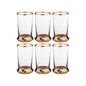 Набор стаканов для воды из 6 шт.600 мл.высота=15 см.-103-501