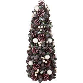 Изделие декоративное елка диаметр=17 см. высота=42 см. без упаковки