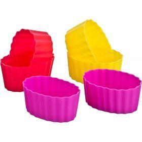 Набор силиконовых форм для выпечки из 6шт.диаметр=7 см.-710-115