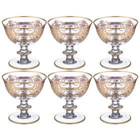 Набор бокалов для коктейлей из 6 шт. 250 мл. высота=12 см.-103-563