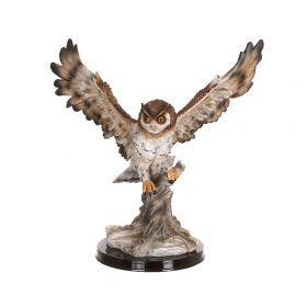 Фигурка летящая сова высота=42 см.