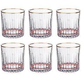 Набор стаканов из 6 шт. 300 мл. высота=9 см.-103-595