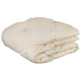 Одеяло эвкалипт 140*205 см, верх:50% хлопок/50% п/э, наполнитель: 100% полиэстер, сливочный с рисунк