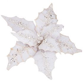 Цветок пуасеттия декоративный