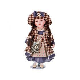 Кукла фарфоровая высота=40 см.-346-240