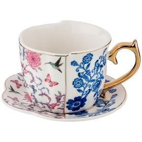 Чайный набор на 1 персону, 2 предмета 300мл. (кор=36набор.)-151-120