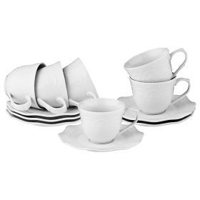 Кофейный набор на 6 персон 12пр. 160мл (кор=48наб.)-359-524