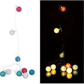 Электрогирлянда со светодиодами 2 м 10 led тепл. бел.-857-001