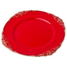 Пластиковая подстановочная тарелка-505-084