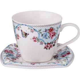 Чайный набор на 1 персону 2пр. 220 мл.-165-340