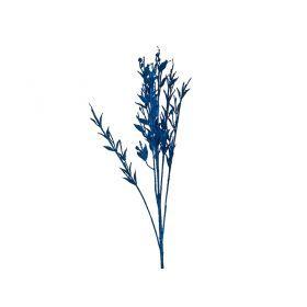 Изделие декоративное ветка длина=72см. синий