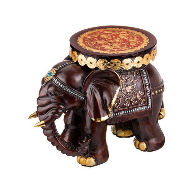 """Подставка-слон """"пополнение в семье"""" 54*33*44 см.-114-338"""