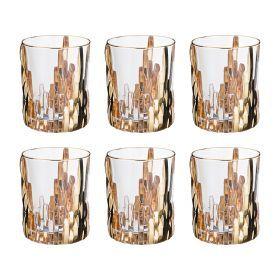 Набор стаканов из 6 шт. 300 мл. высота=10 см.-103-601