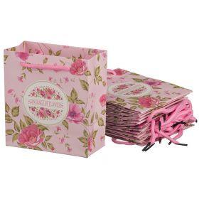 Комплект бумажных пакетов из 10 шт. 14*16*7 см.-521-164
