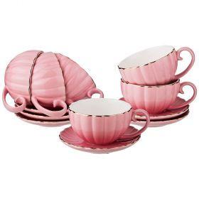 Чайный набор на 6 персон 12 пр 200 мл (кор=6набор.)-153-867