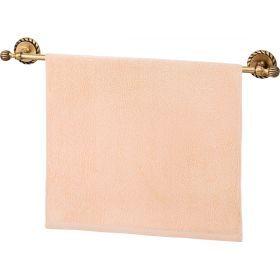 Полотенце махровое ,50х90, персиковое ,100% х\б-703-13130