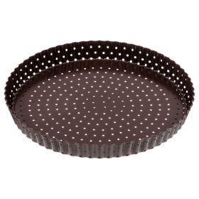 Форма для выпечки со съемн.дном, антипригарное покрытие 28*3 см, криспи-904-038