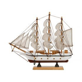 Модель корабля 29*6 см. высота=26 см.-271-153