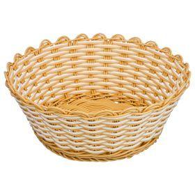 Корзинка цветное плетение 20*8 см (кор=120 шт.)-109-264