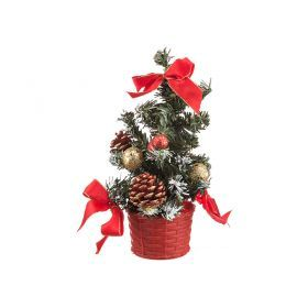 Изделие декоративное  елочка наряженная высота = 20 см