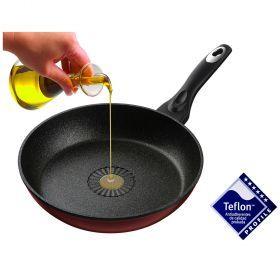 Сковорода agness с антипригар.покрытием teflon profile диаметр=20 см-945-011