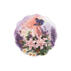 Тарелка настенная декоративная диаметр=21 см.