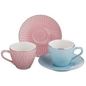 Чайный набор на 2 персоны 4пр. 220мл-389-471