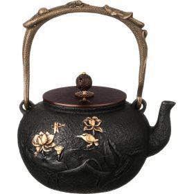 Чайник чугунный 1300 мл.-734-059