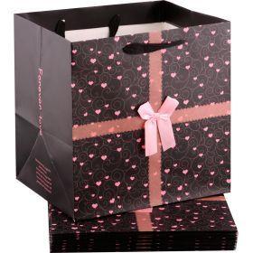 Комплект бумажных пакетов из 10 шт.30*30*25 см.-521-089
