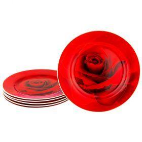 Набор тарелок из 6 шт. диаметр=19 см (кор=8набор.)-274-941