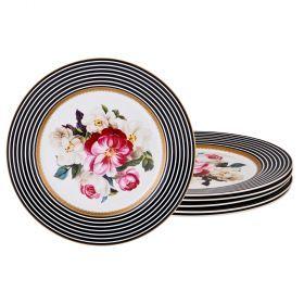 Набор десертных тарелок из 6 шт диаметр=19,5 см-87-162