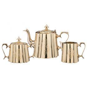 Набор для чаепития: сахарница, чайник, молочник 500/1100/400 мл.-877-409