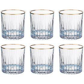 Набор стаканов из 6 шт. 300 мл. высота=9 см.-103-589