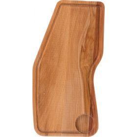 Доска деревянная для стейка 40*19 см.-430-161