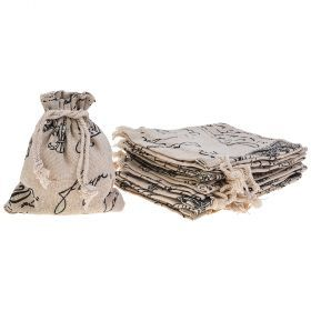 Комплект мешочков из 10 шт. 10*12 см (кор=250комп.)-242-422