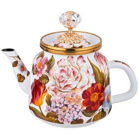 Чайник эмалированный 1,0л-500-114