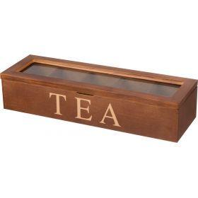 Шкатулка для чая 28*18*8 см.-255-043