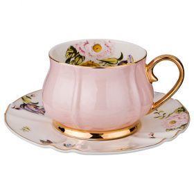 Чайный набор на 1 персону, 2 пр., 200 мл. (кор=24набор.)-275-1081