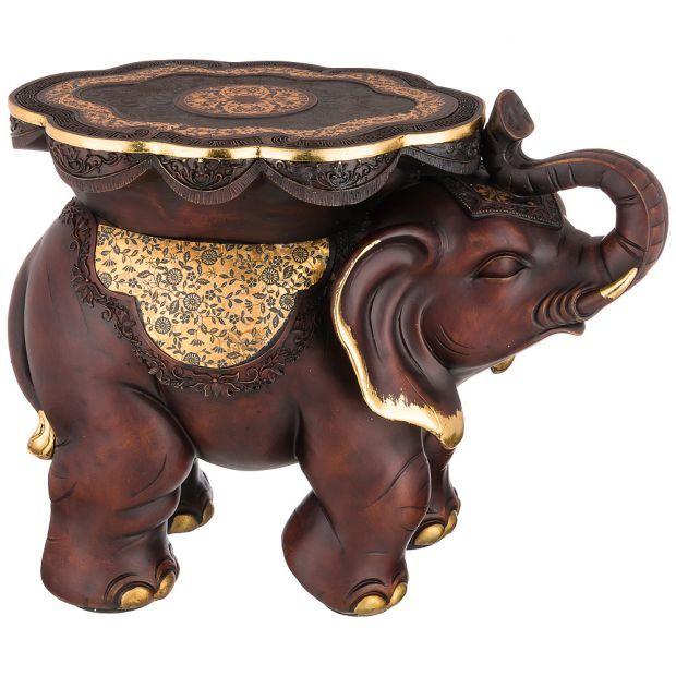 """Фигурка слон """"фундамент материального достатка"""" 32,5*32,5 см высота=46 см (кор=1шт.)-114-410"""